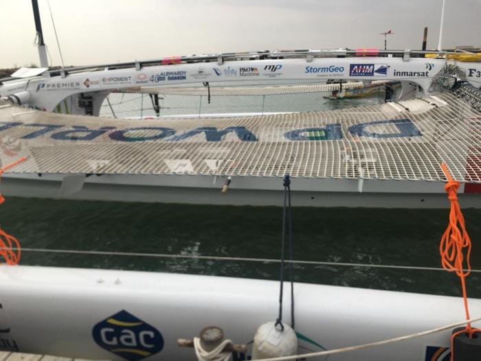 Traversée de l'atlantique : Top Départ du Trimaran Row4Ocean pour sensibiliser sur la pollution du fonds marin