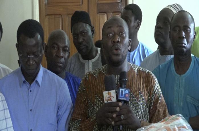 Ass Kâ, parrain de la finale de la zone 13 de Ndiébène Gandiole, attire l'attention du chef de l'État sur les probables risques du dragage de la brèche.