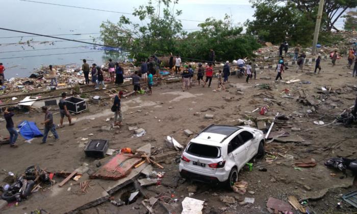 Tsunami en Indonésie : le bilan s'alourdit à 222 morts, des milliers de blessés et disparu