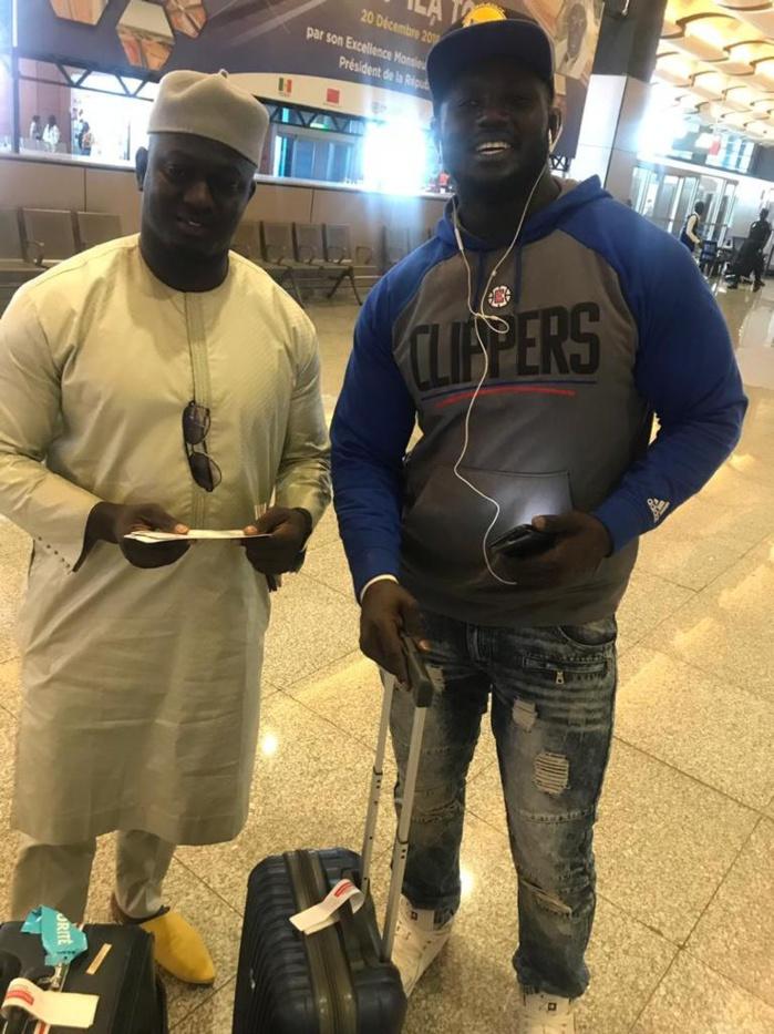 Après le face-à-face d'hier : Balla Gaye 2 et Baye Ndiaye dans les airs...