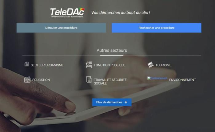 Dématérialisation : les procédures en ligne sur teledac.gouv.sn