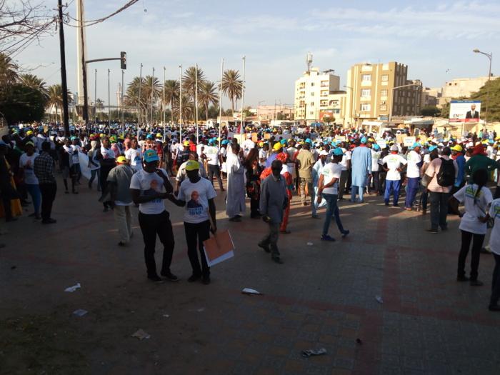 Place de l'Obélisque : L'opposition relève le défi de la mobilisation et freinée net par la police
