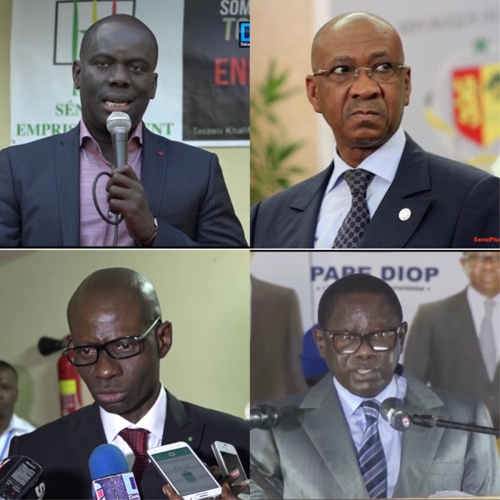 Boubacar Camara, Hadjibou Soumaré, Malick Gakou et Pape Diop s'acheminent-ils vers l'invalidation de leurs candidatures ?