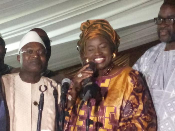 Rufisque/Méga-meeting Sargal Macky : Mimi Touré invite l'opposition à la sportivité et à accepter les règles du jeu