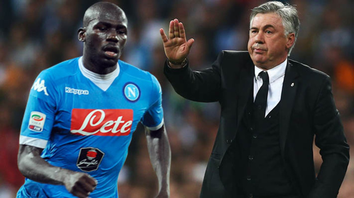 """Naples / Koulibaly, Ancelotti menace encore : """"Si cela se reproduit, nous arrêterons de jouer"""""""