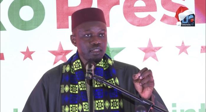 Décision de la Cour suprême sur l'affaire Khalifa Sall: Ousmane Sonko s'indigne et s'attaque à la Justice