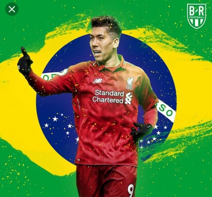 Roberto Firmino remporte le Samba D'or 2018 et succède à Neymar Jr