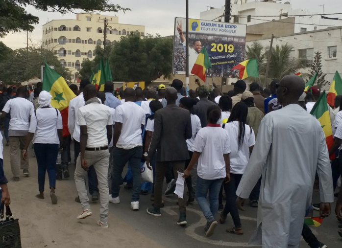 """ONE MILLION MARCH"" : Bougane Guèye rallie la grande marche contre le régime de Macky"