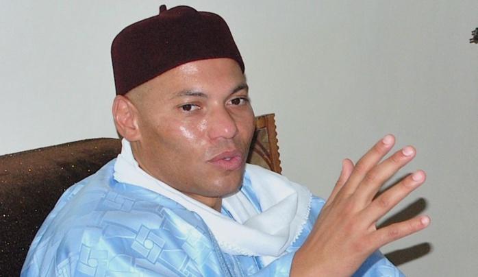 Karim Wade revendique son droit d'être candidat à l'élection présidentielle