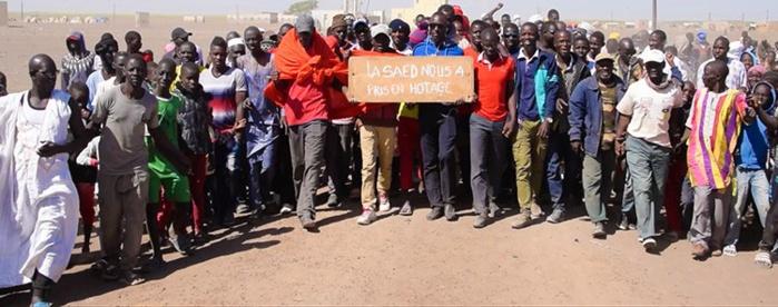 Saint-Louis : Marche des populations de Déby-Tiguette et Diam-Diam pour exprimer leur colère au président Macky Sall