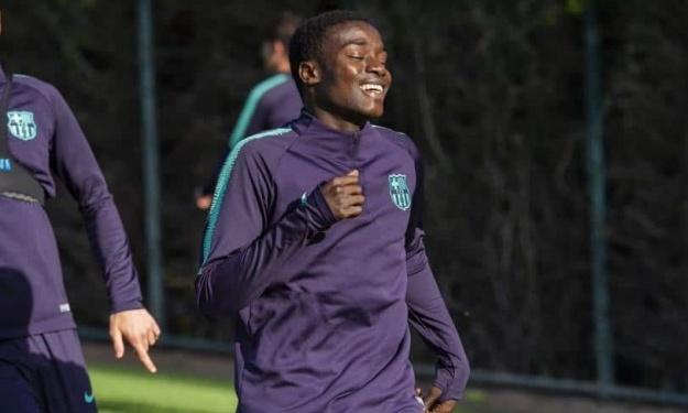 Barça : Le sénégalais Moussa Wagué présent dans l'équipe A en coupe du roi