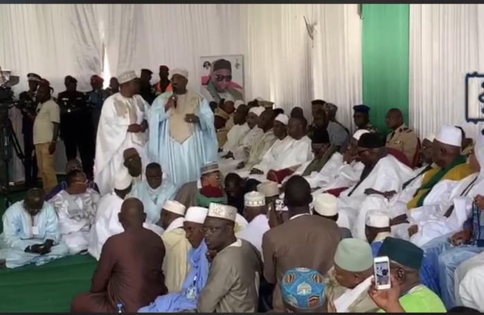 Cérémonie officielle de la 55 ème édition de la Ziarra du vénéré Thierno Mountaga Daha Tall : Le président Macky Sall est présent avec une forte délégation