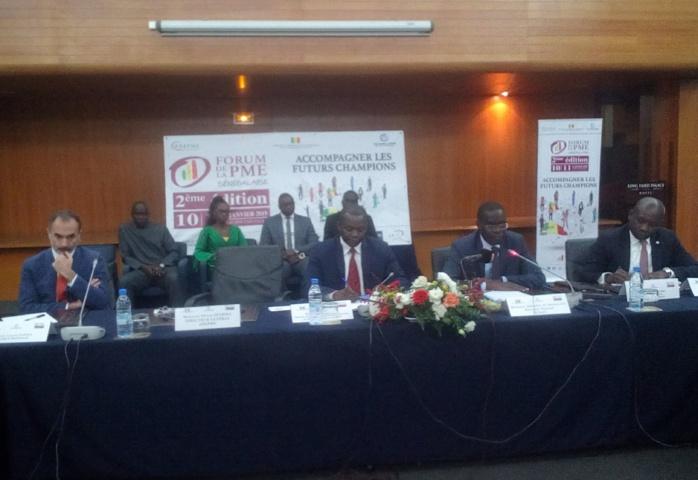 2ème forum de la PME sénégalaise/ Échanges entre les acteurs sur les risques et le financement massif : Le ministre du commerce promet de transmette le cahier de recommandations au gouvernement pour venir au chevet des PME