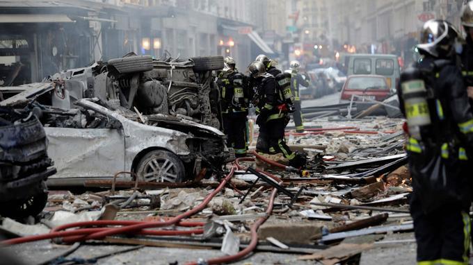 Explosion dans le 9e arrondissement de Paris, au moins 20 blessés