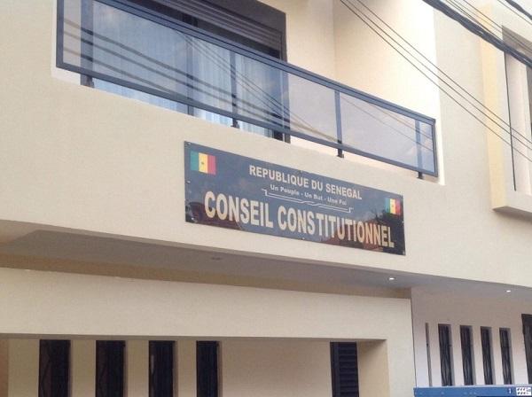 Conseil constitutionnel: la liste provisoire des candidats à la présidentielle publiée ce dimanche
