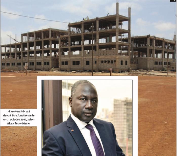 "Construction de l'université Amadou Moctar Mbow : Macky Sall ""vire"" Adama Bictogo et Lahad Ka"