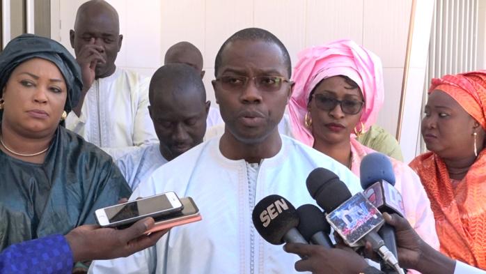 TOUBA - Sory Kaba chez le Khalife des Mourides pour lui présenter le programme dit de ' Renforcement de la Gouvernance Migratoire au Sénégal '