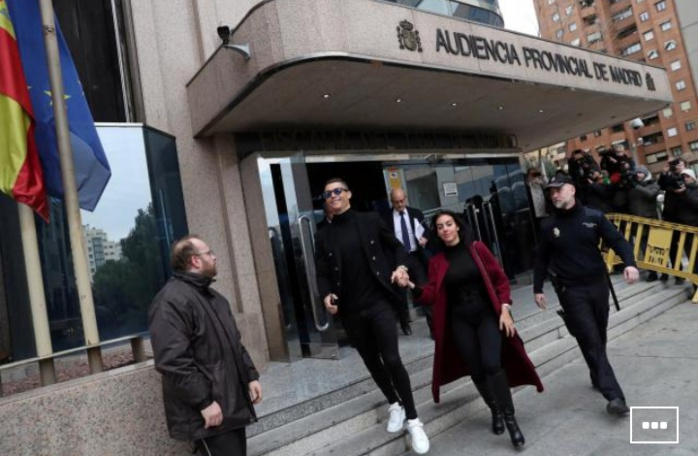 Football / Justice : Cristiano Ronaldo n'ira pas en prison pour fraude fiscale