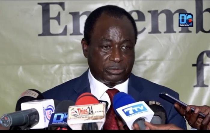 Ibrahima Macodou Fall Président du Mouvement ADEVIT félicite le Chef de l'Etat Macky Sall