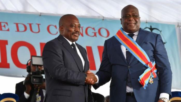 RDC : Kabila passe (officiellement) le pouvoir à Tshisekedi qui prête serment