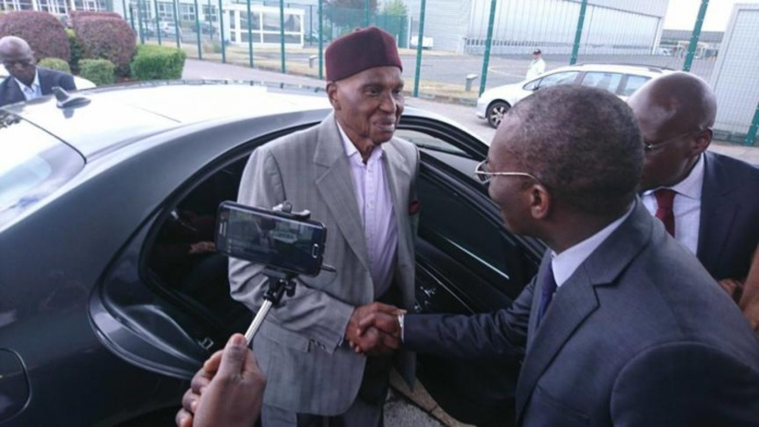 Me Abdoulaye Wade à Dakar le 7 Février prochain
