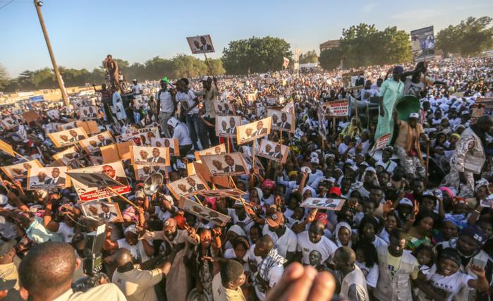 MACKY SATISFAIT DE LA MOBILISATION :  «Vous avez montré qu'entre Mbacké et Touba, il n'y aura pas combat»