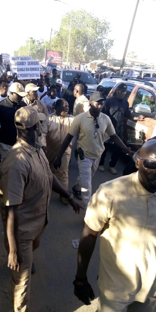 (IMAGES) La mobilisation d'El Hadj Dia lors du meeting d'ouverture du candidat Macky Sall à Mbacké