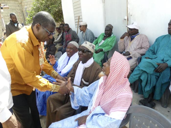 Campagne présidentielle à Saint-Louis : Le Président du comité électoral départemental de BbmBY réussit son entrée dans son fief à Bango
