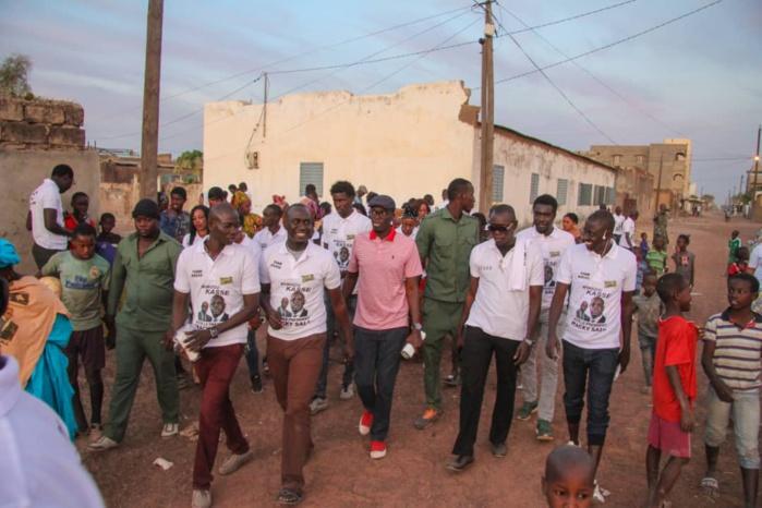 Porte à porte intensif du DG Mamadou Kassé à Tambacounda