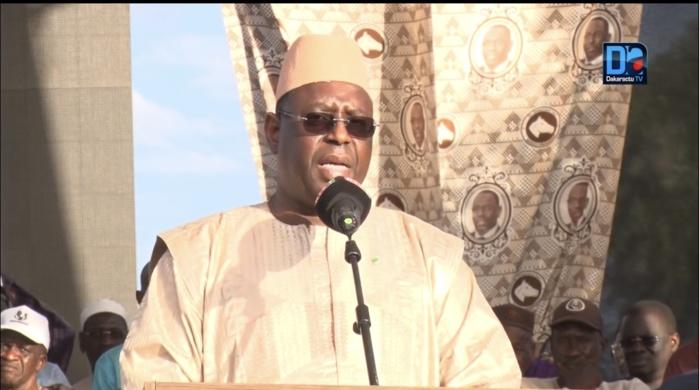 Présidentielle 2019 : Macky Sall annonce la construction prochaine d'un pont reliant le Walo à la Mauritanie