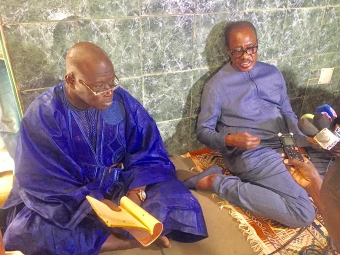 """Ourossogui-Matam-Bakel : Madické Niang """"en campagne"""" pour la paix et le dialogue interreligieux"""