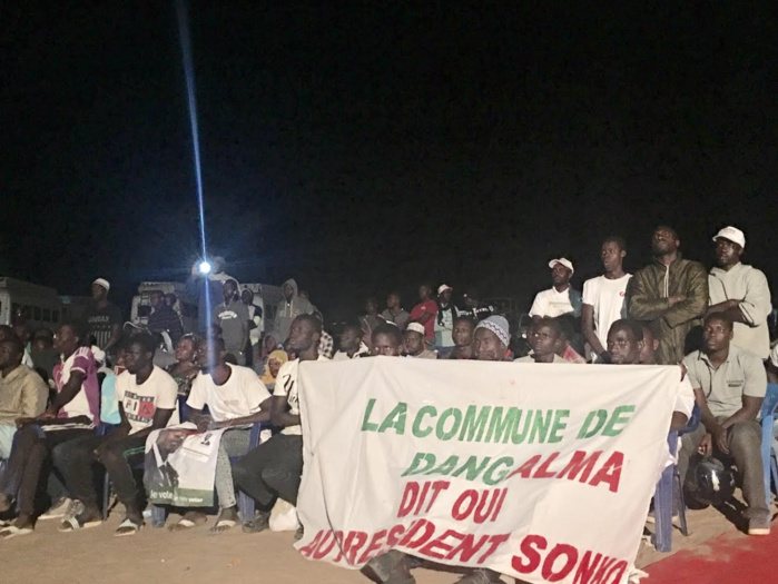 Bambey / Chose promise, chose due : Ousmane Sonko tient son meeting à 2h du matin