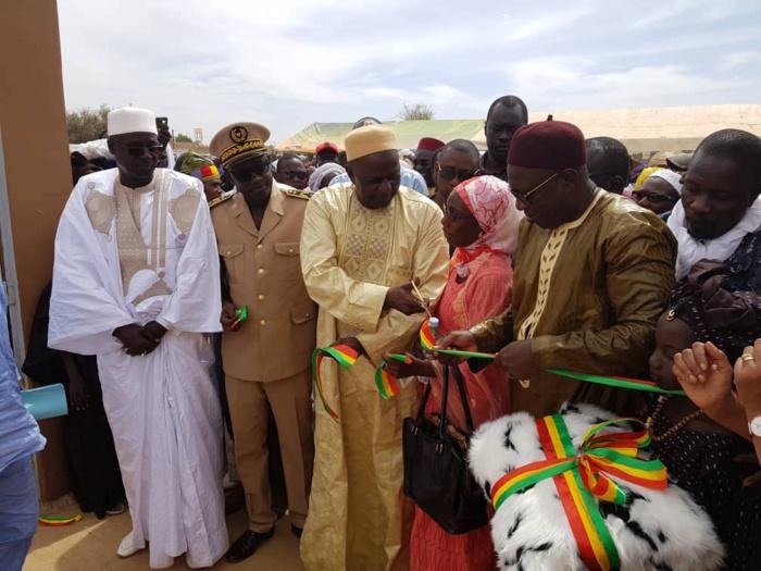 Réduction de la mortalité maternelle et infanto-juvénile dans la zone frontalière :  Sinthiou Amadou Marième dans la commune de Mbolo Birane réceptionne son poste de santé
