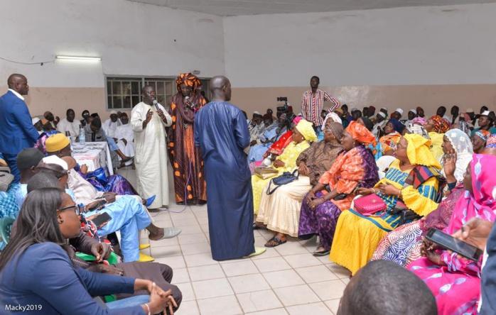 Présidentielle 2019 : le délégué régional BBY de Dakar Amadou Ba en visite à Grand-Yoff