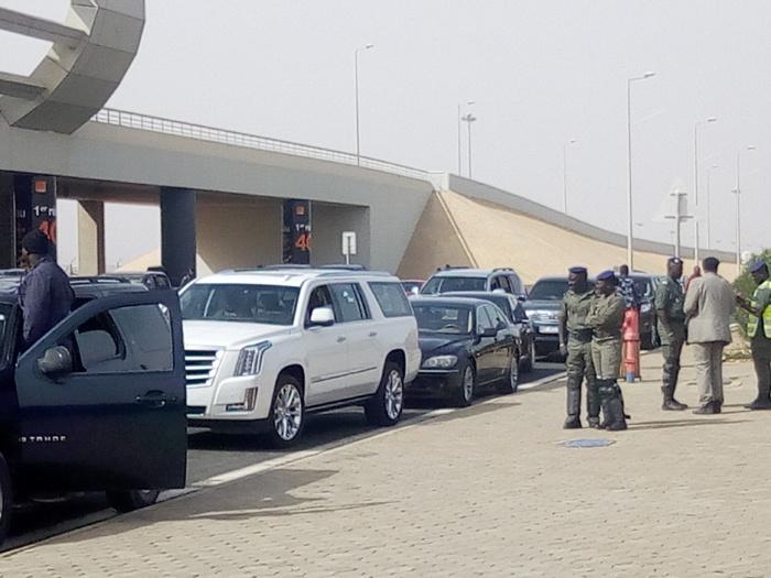Arrivée de Wade à l'aéroport de Diass : Cheikh Guèye, proche de Khalifa Sall, à l'accueil