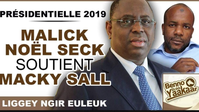 Présidentielle-Soutien : Malick Noël Seck rejoint Macky Sall