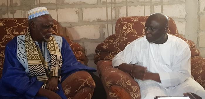 Kaolack / Fass Kahone : Idy rend visite à Serigne Cheikh Oumar Soumboundu