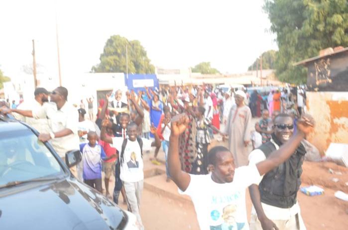 SÉDHIOU : La forte mobilisation du candidat Madické Niang (IMAGES)