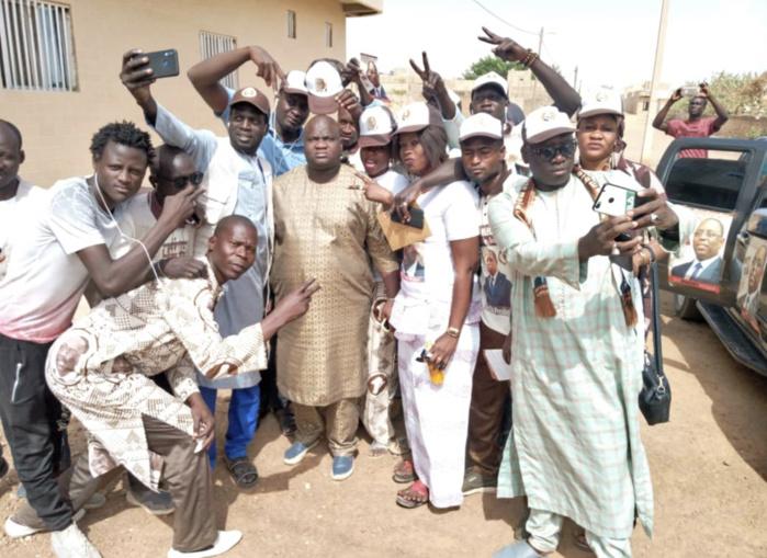(PHOTOS) SERIGNE MAKHTAR SOUGOU (Khalife de Diéry Wadane Sougou) : «Mon arme c'est de prier et je prierai pour le Président Macky Sall qui gagnera»
