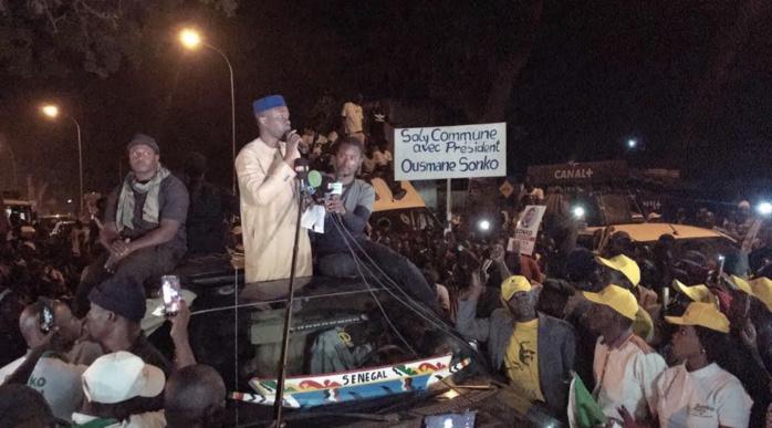 Présidentielle 2019 : Mbour en Feu avec Ousmane Sonko !