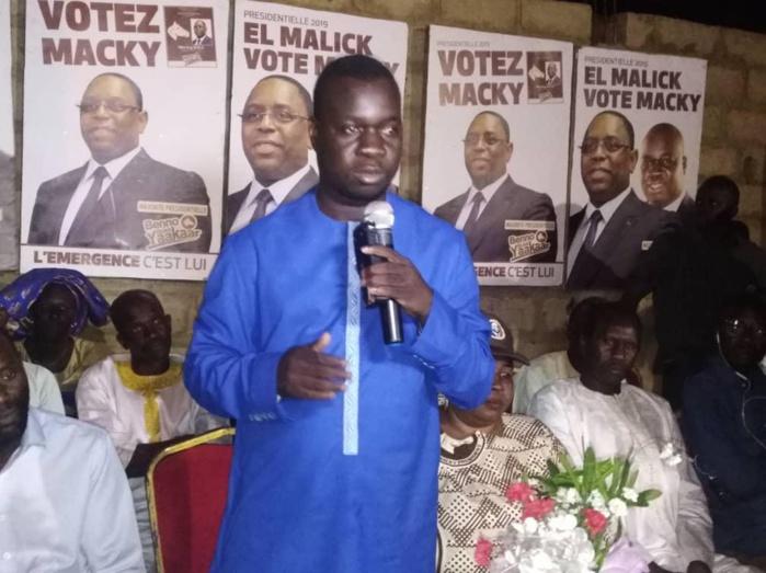 Soutien à Macky Sall : El Malick Seck en proximité à Thiès