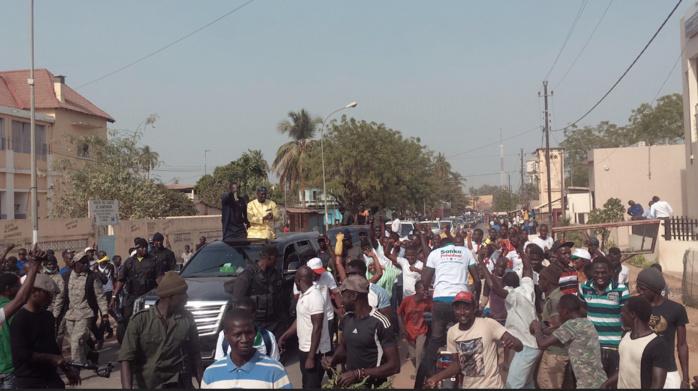 ZIGUINCHOR / Ousmane Sonko accueilli comme le messie !