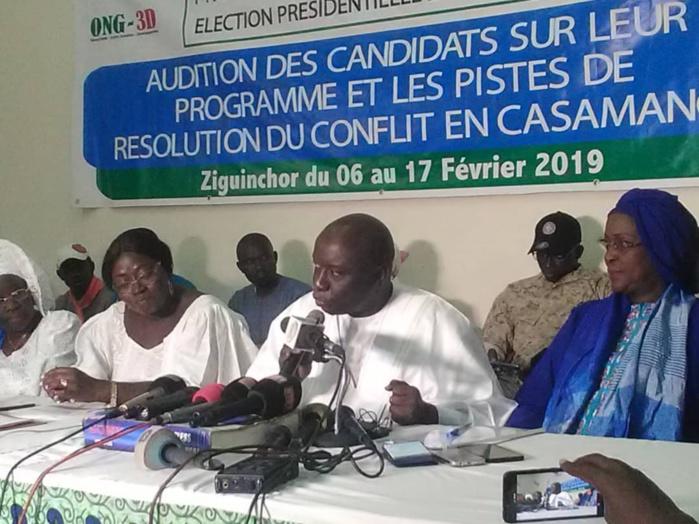 Casamance : Idrissa Seck signe le protocole d'accord avec la Plateforme des femmes pour la consolidation de la paix