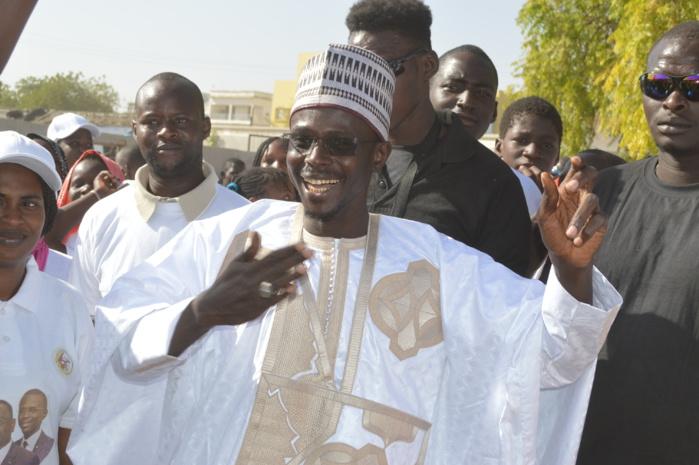 Présidentielle 2019 : Les images de la forte mobilisation de Babacar Lo Ndiaye( Leader de la Convergence des Forces Républicaines) lors du meeting du Président Macky Sall à Kaolack