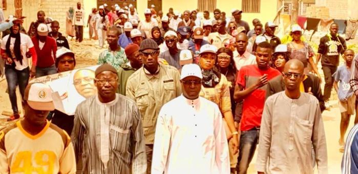 Présidentielle 2019/Mbao : Keur Mbaye Fall, derrière Abdou Karim Sall, se dit prêt pour l'assaut final (Images)