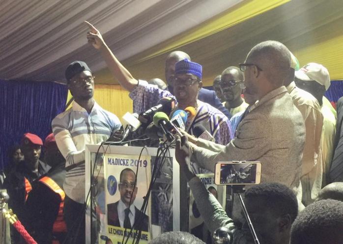"""Meeting de """"Madické 2019"""" : Forte mobilisation de Mouhamadou Lamine Massaly à Thiès"""