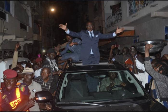 Caravane Jamm Ak Xéwal : Madické Niang a sillonné les rues de Dakar
