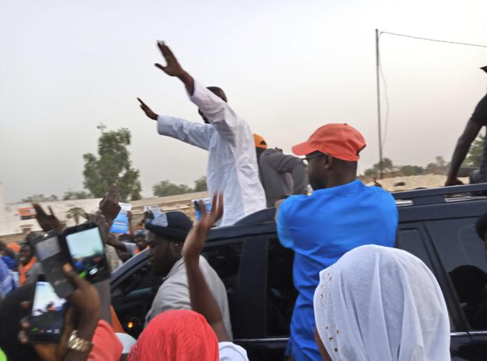 "Caravane ""Coalition IDY2019"" : Le candidat Idrissa Seck demande de la compréhension de la part de ses militants."