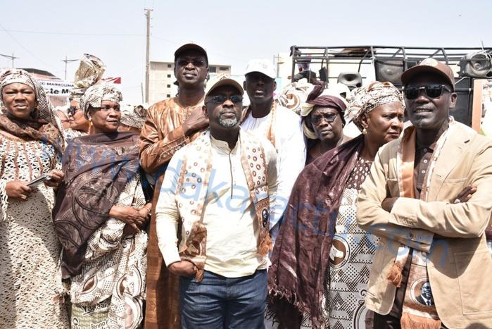 Caravane de BBY à la Médina / Cheikh Bâ et CATB réservent un accueil phénoménal à Macky Sall (IMAGES)