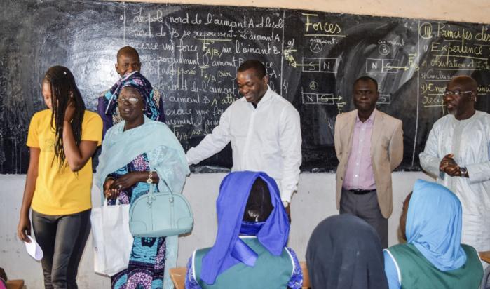 Notto-Diobass : Le ministre-maire Alioune Sarr enrôle 1.000 élèves de sa commune à la Couverture Maladie Universelle (CMU)